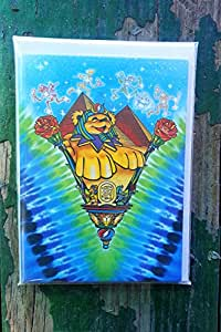 Grateful dead greeting cards dead sphinx pack pf 12 amazon grateful dead greeting cards dead sphinx pack pf 12 m4hsunfo