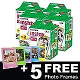 Fujifilm Instax Mini Film (100prises) + 5sans cadres photo