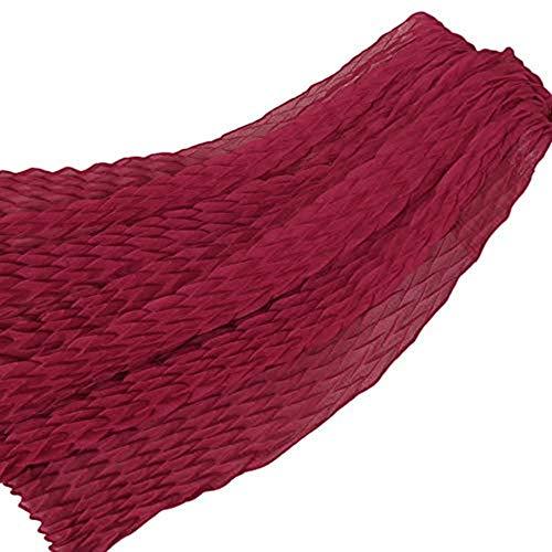 Likecrazy Damen Kopftuch Muslim Turban Schal Mode Frauen Solide Stretch Falten Wrap Cap Stylish Elegant Multifunktionstuch Kopfbedeckung Cancer Chemo ()