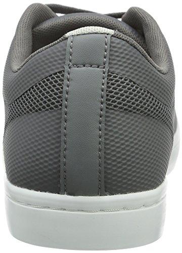 Lacoste Straightset Sr 316 1, Baskets Basses Homme Gris - Grau (DK GRY 248)