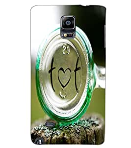 SAMSUNG GALAXY NOTE EDGE TEXT Back Cover by PRINTSWAG