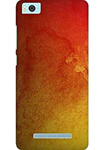 AMEZ designer printed 3d premium high quality back case cover for Xiaomi Mi5 (abstract red)