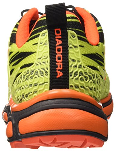 Diadora Unisex-Erwachsene Trail Race Giallo (Giallo Fluo/Nero C4102)