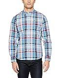 Napapijri Gatlin, Camisa para Hombre, Multicolor (Check), X-Large