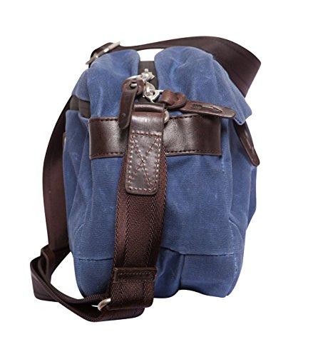 Property Of... Sac pour homme sac à main-Coton-Bleu Bleu