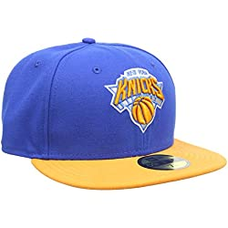 New Era Nba Basic New York Knicks - Gorra para hombre, color azul, talla 7 1/8