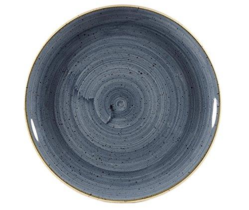 Churchill Stonecast Blueberry Evolve Coupe Teller, 28,8 cm, 12 Stück Blueberry Coupe