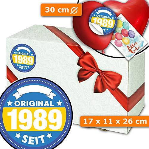 Original seit 1989 + Geschenkkorb selbst gestalten + 30 Geburtstag Geschenke
