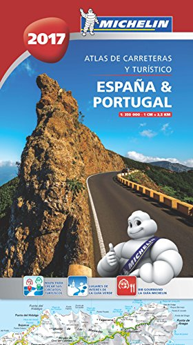 Atlas España Y Portugal 2017 (Atlas de carreteras Michelin)