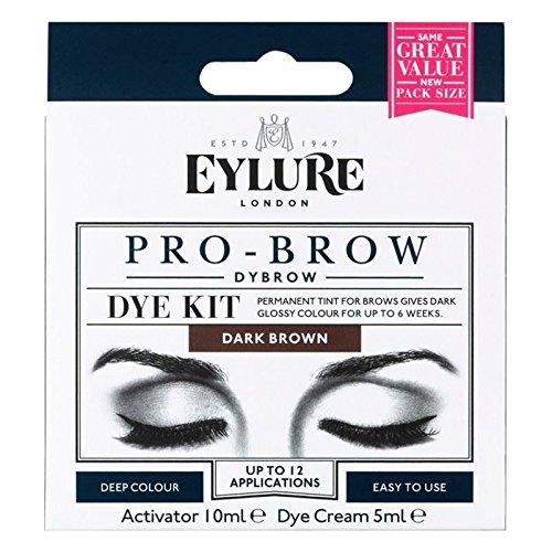 Eylure Pro-Brow 6 Semaines Brow Kit Dye brun foncé