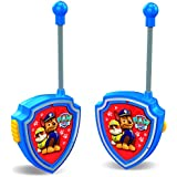 Paw Patrol - Set de 2 walkie talkies, color azul (Cefa Toys 00434)