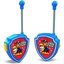 Paw Patrol - Set de 2 walkie talkies, color azul (Cefa Toys 00434)