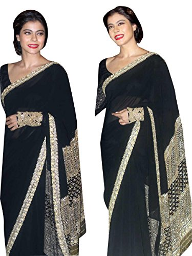 Bollywood Craze Rowsilk Fabric Latest Desginer 2018 Collection Saree For Women Party...
