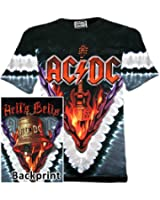 AC/DC T-Shirt - Hells Bells (Batik Shirt)AC/DC Shirt