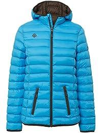 IZAS Mujer Ailama mount-loft acolchado chaquetas, mujer, color Turquoise/Chocolate, tamaño XXXXXXL