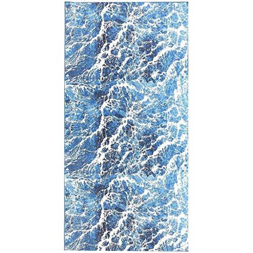 Dorical Rechteck Strandtuch für Damen Frauen 160cm x 70cm Strand Yoga Matten Schal Schal,Double Drucken Tapestry Tischdecke Picknickdecke Schal Outdoor Cover Reduziert(C,One size)