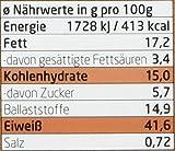 Layenberger Protein Keks-Müsli Schoko-Crunchy, 1er Pack (1 x 530 g) - 2