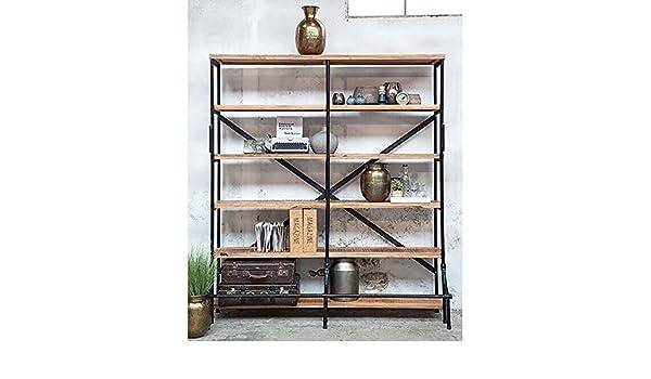 Maison ESTO Industriedesign Bücherregal Judith Regal Metall