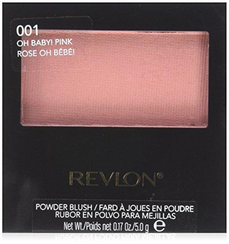 Revlon Powder Blush, 001 Oh Baby Pink, 0.17 Ounce by Revlon - Revlon Vitamine