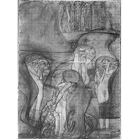 Museo Outlet-Composizione il progetto di legge facoltà Klimt-Tela di immagine (60,96 x 45,72 (24