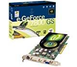 EVGA NVIDIA GeForce 7800 GS CO 256MB DDR3 Ram AGP 8X DVI TV-Out Copper Version Grafikkarte, Retail