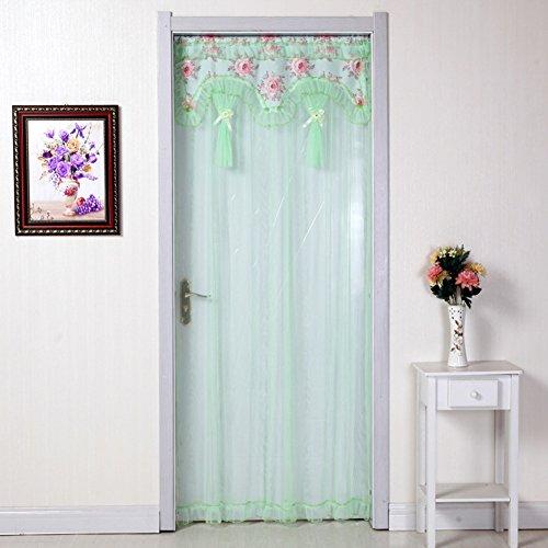 Spitzen-vorhang magnetische vorhang,Tuch kunst anti-moskito-garn vorhang sommer einfache dekoration magische tür vorhang mesh-schlafzimmer-wohnzimmer-magnetische tür-netze -A 100x200cm(39x79inch)