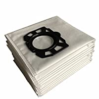 CF Clean Fairy 10-pack Karcher Fleece Filter Bags Replacement for WD4, WD5, WD5/P Wet & Dry Vacuums MV4,MV5,MV6