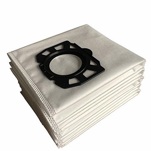 Clean Fairy 10-Pack Karcher forro polar bolsas de filtro de repuesto para WD4, WD5, WD5/P mojado y seco vacíos MV4, MV5, MV6