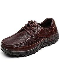 Shenn Hombre Vestir Atada Trabajo Espacio Negocio Cuero Oxfords Zapatos De Uniforme 1620