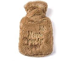 Wärmflasche, bestickt mit Krone, Handwärmer, Warmwasserbeutel, niedlich, tragbar, 1 Stück preisvergleich bei billige-tabletten.eu