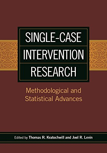Single-Case Intervention Research: Methodological and Statistical Advances (English Edition)