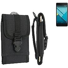 bolsa del cinturón / funda para BQ Readers Aquaris M5, negro | caja del teléfono cubierta protectora bolso - K-S-Trade (TM)