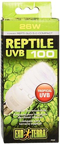 Exo Terra Reptile UVB 100 - Tropenterrarienlampe 25W -