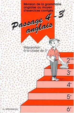 Passage 4ème, 3ème