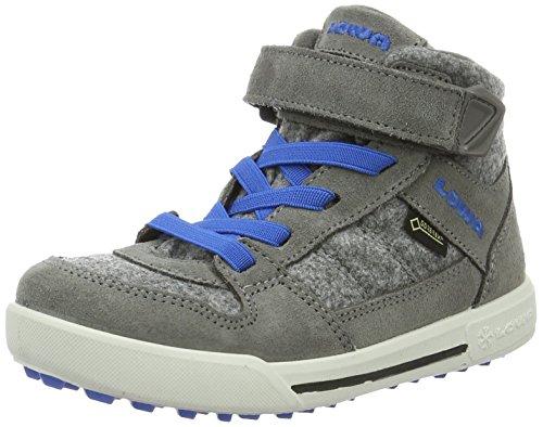 Lowa Unisex-Kinder Mika Ii Gtx Trekking-& Wanderstiefel Grau (Grau/Blau)