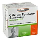 CALCIUM D3 ratiopharm Brausetabletten 40 St Brausetabletten