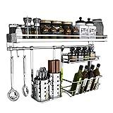 Küche Racks 304 Edelstahl Ablass Sauce Stäbchen Käfig Schief Wand-montiert Multi-Funktion Lagerung Haushalt MUMUJIN