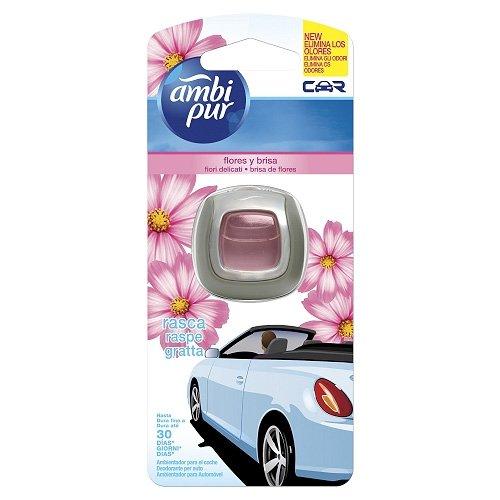 Ambi Pur - Car Usa e Getta Fiori Delicati - Deodorante per Auto