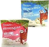 Vegetarian Freedom Mallows 1 x Strawberry Flavour 1 x Vanilla Flavour