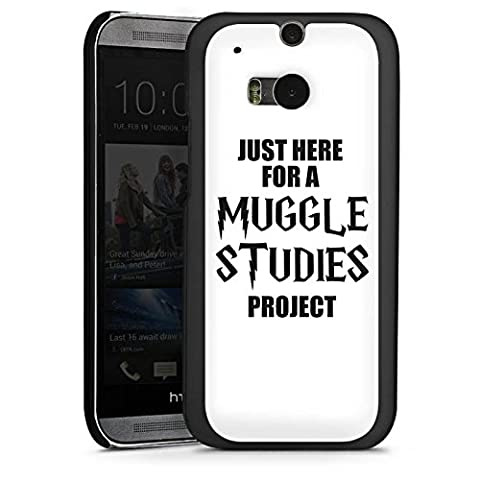 HTC One M8s Hülle Schutz Hard Case Cover Harry Potter Spruch Muggle