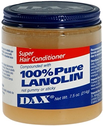 Dax 100% Pure Lanolin Super Hair Conditioner 7.50 oz by DAX