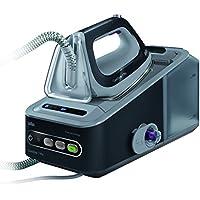 Braun CareStyle 7 Pro IS 7056 2400W 2L Suela Saphir Negro, Gris - Centro de planchado (2400 W, 7,5 bar, 2 L, 450 g/min, 125 g/min, Suela Saphir)