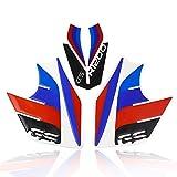 FATExpress Motorrad Tank Side Pad Aufkleber Emblem Abzeichen Logo Set für 2013-2016 BMW R1200GS R 1200 GS 2014 2015 13-16