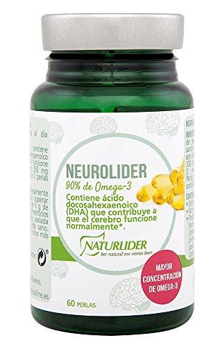 Naturlíder Neurolider Suplementos para Sistema Nervioso Central y Memoria - 60 Cápsulas