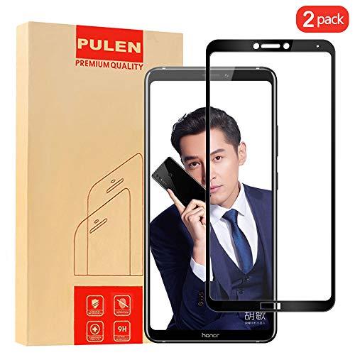 PULEN [2 Pack] Huawei Honor Note 10 Panzerglas Schutzfolie, 9H Hartglas Glas Bildschirm schutzfolie [Anti Fingerabdruck,Kratzen] [Bubble-frei] hochwertigem gehärtetem Folie for Huawei Honor Note 10