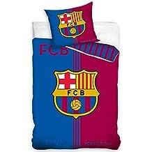 FC Barcelona juego de funda nórdica individual, diseño algodón