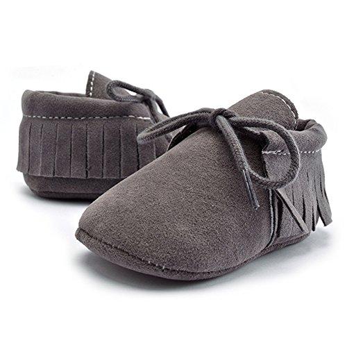 La Cabina Chaussures Bébé Fille garçon -Chaussure Bébé Fille Garçon Premier Pas -Chaussures Souples Confortable - Chaussures Antiglisse +Frange Décoration (3- 12 mois ) (6-9 mois, 02) 09