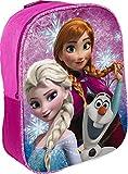 Star Licensing Kinder Rucksack Disney Frozen, Kinderrucksack, 42931, Mehrfarbig, 42931