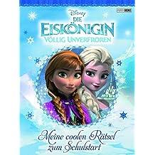 Disney Die Eiskönigin Schulstartblock: Meine coolen Rätsel zum Schulstart