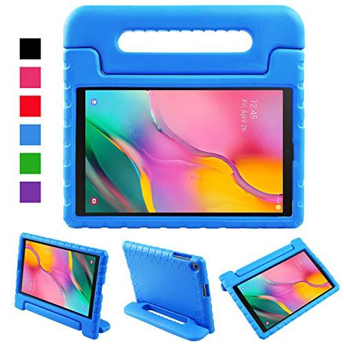 LEADSTAR Funda para Samsung Galaxy Tab A 10.1 2019, Ligero y Super Protective Antichoque EVA Estuche Protector Diseñar Especialmente Manija Caso con Soporte para los Niños, SM-T510 / T515 (Azul)